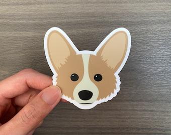 Corgi Puppy Dog Vinyl Sticker