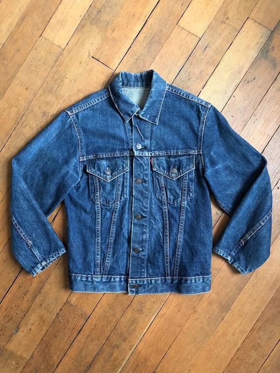 vintage big E Levis denim jacket