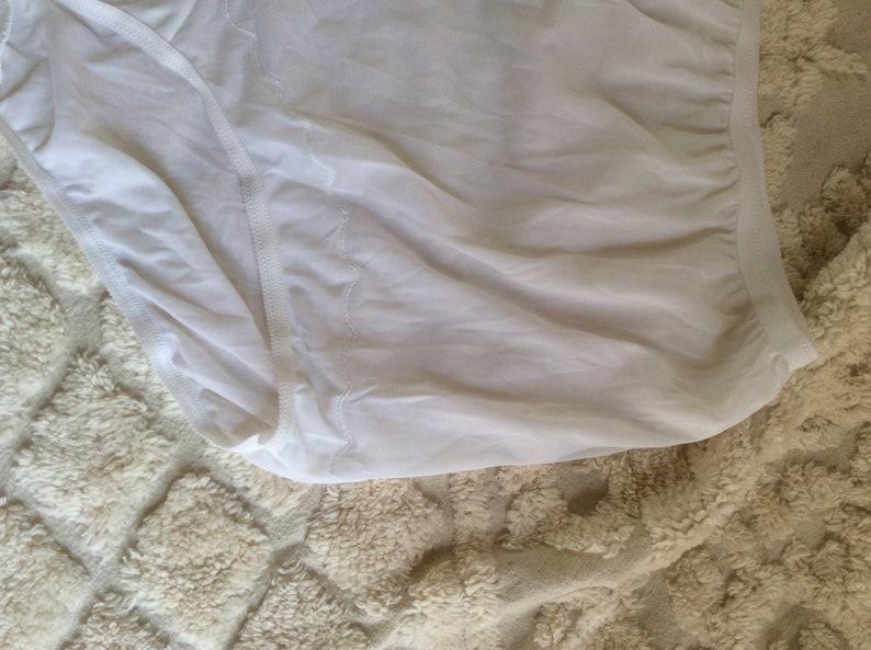 3b0dc33f8e9b Vintage XXL Dixie Belle Panties 1960s White Nylon Briefs / | Etsy