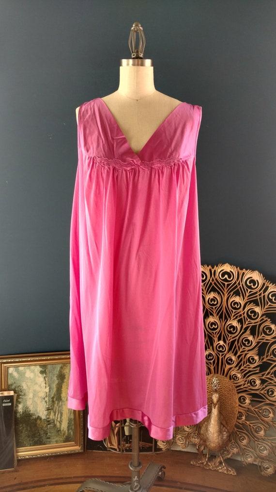 4dd0f8c9c07 Deadstock 60s Hot Pink Lingerie   1960s NOS Vanity Fair