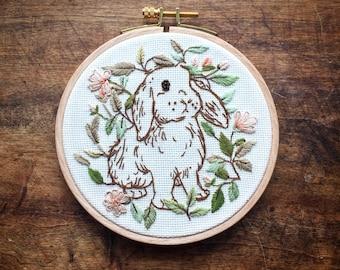 Embroidery - Rabbit of Wonders