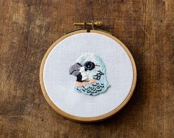 Embroidery - Blue Bird