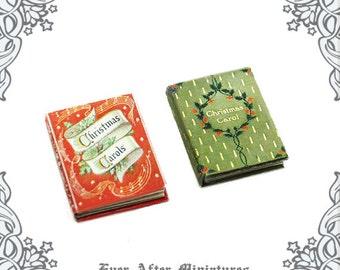 graphic about Christmas Carol Songbook Printable referred to as Xmas CAROLS Audio Sheet Dollhouse Miniature E-book 1:12