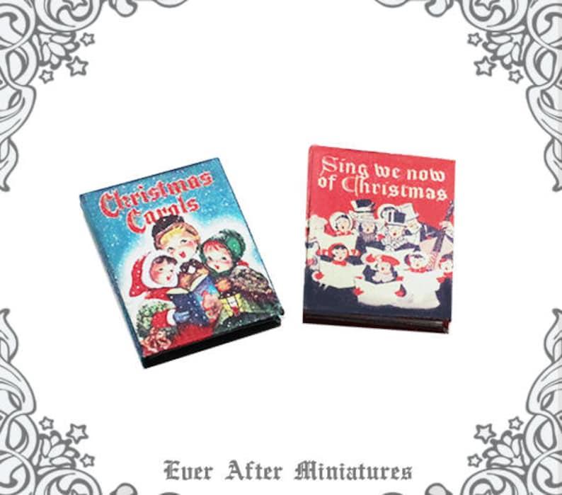 picture about Printable Christmas Carols Booklet identify 2 Xmas CAROLS Dollhouse Miniature E-book 1:12 Xmas Songs E book Sheet Audio Guide - Printable Miniature Xmas Tune E-book Down load