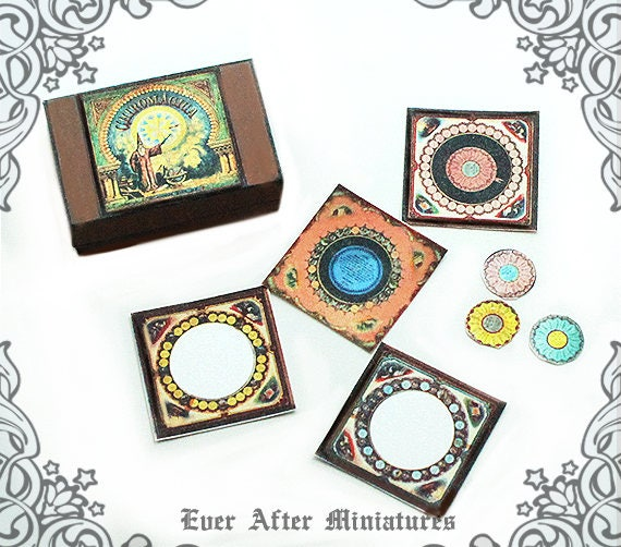 Chiromagica Wizard Miniature Game 1 1 12 Printable Antique Etsy