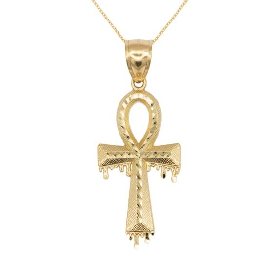 14K Or Jaune Diamant Cut Nugget Coeur Charme Pendentif fabricants Standard prix de détail $99