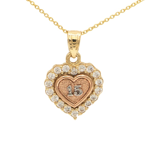 Ice on Fire Jewelry 14k Yellow Gold Cubic Zirconia Cross Pendant Necklace 20 Mariner Chain