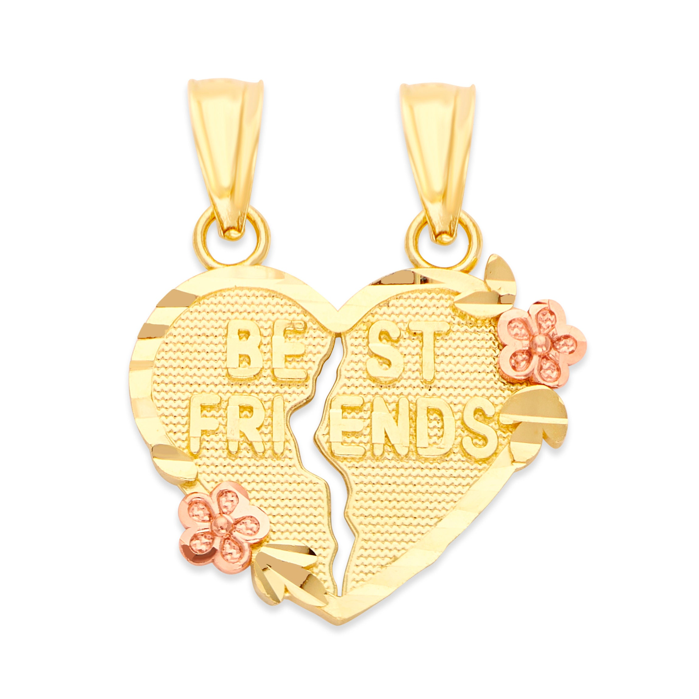 Long Distance Friends Birthday gift for her Friend Gift Tiny Heart Gold heart Necklace Diamond Heart Necklace Best Friend Necklace