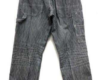7f420c13 Vintage lee union made hickory stripe hd lee sanforized