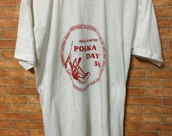 Vintage Adidas Shoes Tshirt Sneakers Running Polka Day 5K