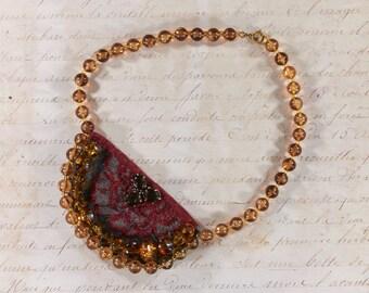 Bib Necklace, statement chain
