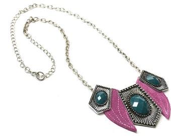 Necklace, statement chain