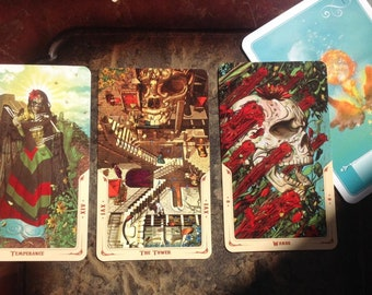 Tarot Reading  past, present, future