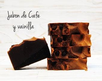 Jabón de Café y Vainilla.
