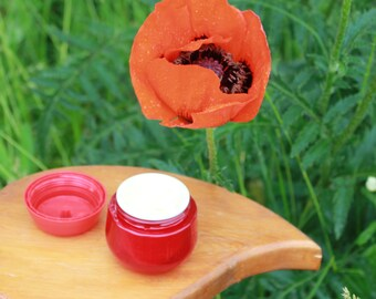 Organic Pomegranate face cream Poppy seed oil cream Organic pomegranate face cream Natural pomegranate face cream Vegan face Pomegranate oil