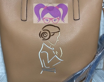b6676441484a77 Princess Leia Embroidered Bag