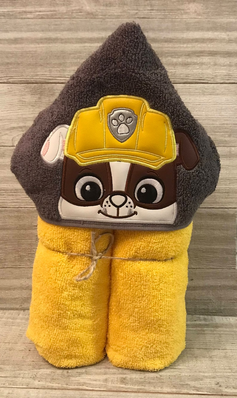 Hooded Towel Paw Patrol Hooded Towel Paw Patrol Bath Towel image 0