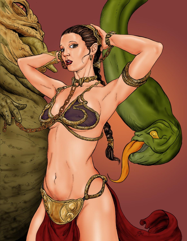 Slave Leia Art