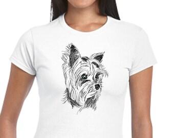 Eat Sleep Walk Yorkie Tshirt Men /& Women Gifts 1286 Yorkie T-Shirt