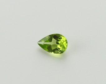 9x6 Pear Shaped Peridot Loose Gemstone