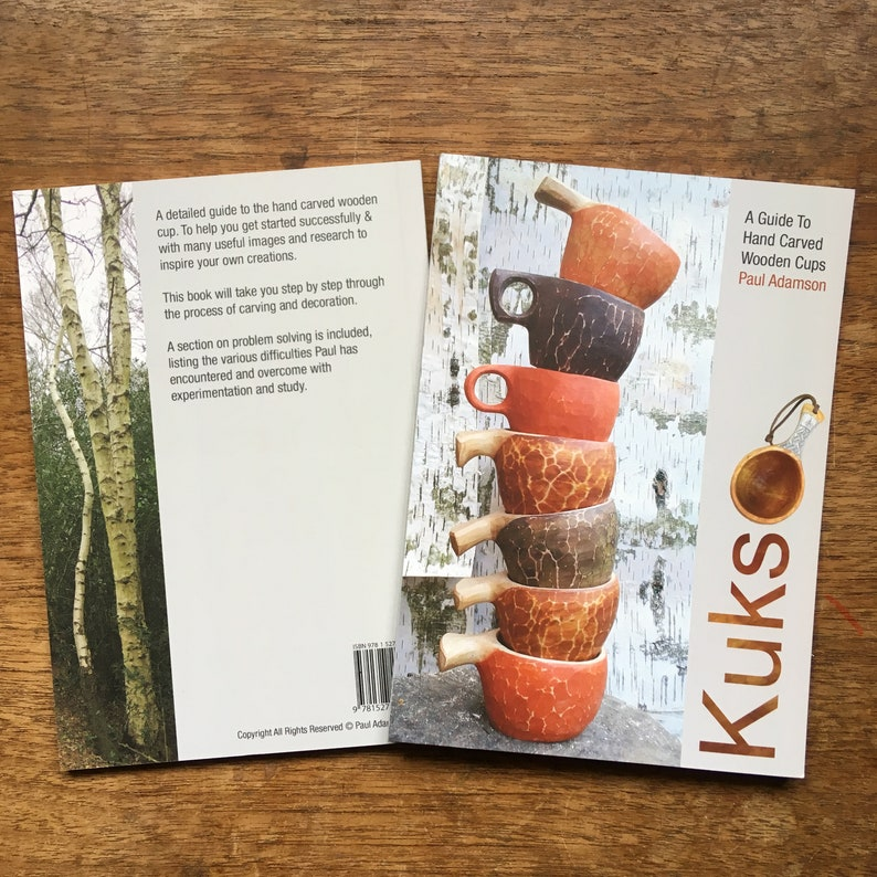 Kuksa  A Guide To Hand Carved Wooden Cups ISBN 978 1 5272 image 0