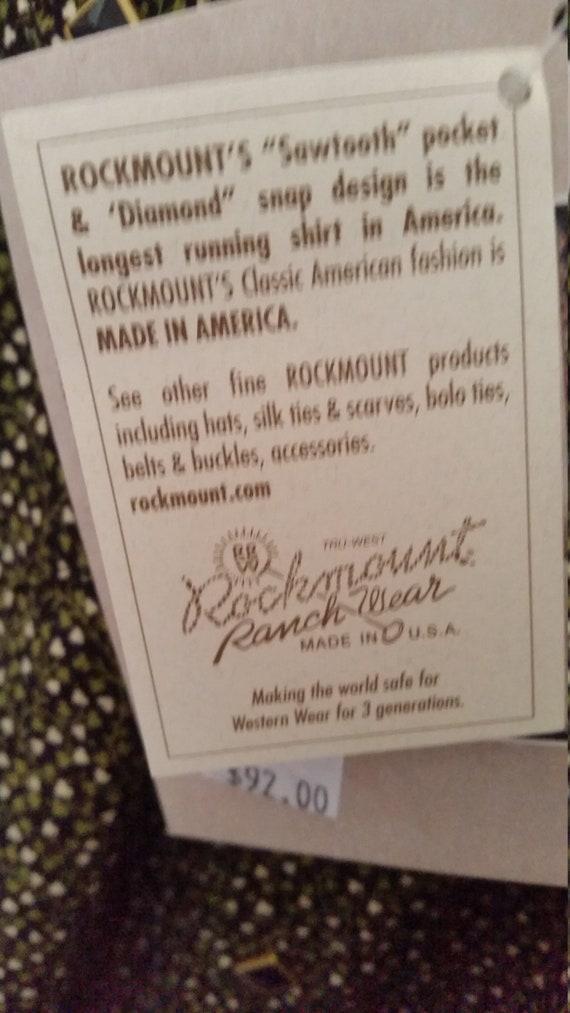 Rockmount cowboy shirt - image 4