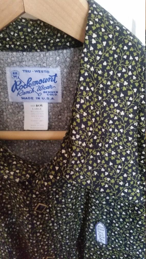 Rockmount cowboy shirt - image 5