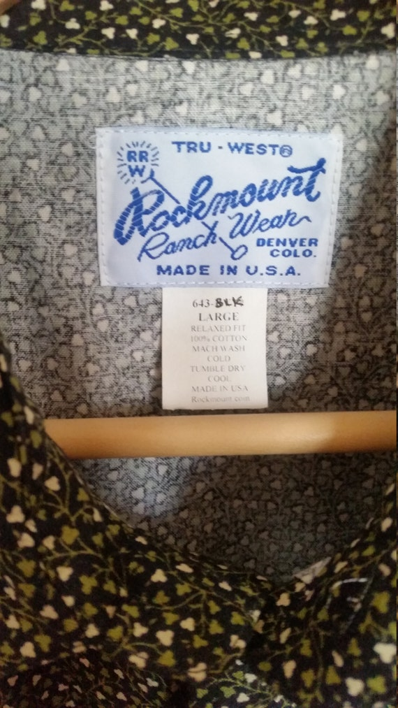 Rockmount cowboy shirt - image 2