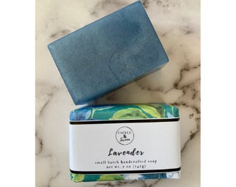 Lavender - Artisan Handmade Soap - Bar Soap - Sulfate Free Soap - Lavender Scented Soap-Vegan Soap -Coven Collection -Gift for Her
