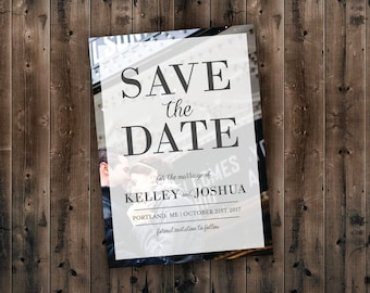 cheap save the date etsy