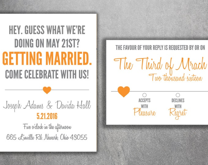 Wedding Invitation, Wedding Invitations, Wedding Invite, Wedding Announcement, Custom Wedding Invitation, Save the Date, Country Wedding