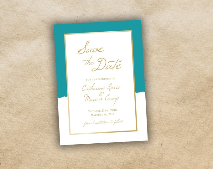Save The Date Card, Postcard Save the Date, Photograph Save the Date, Simple Save the Date, Engagement Card