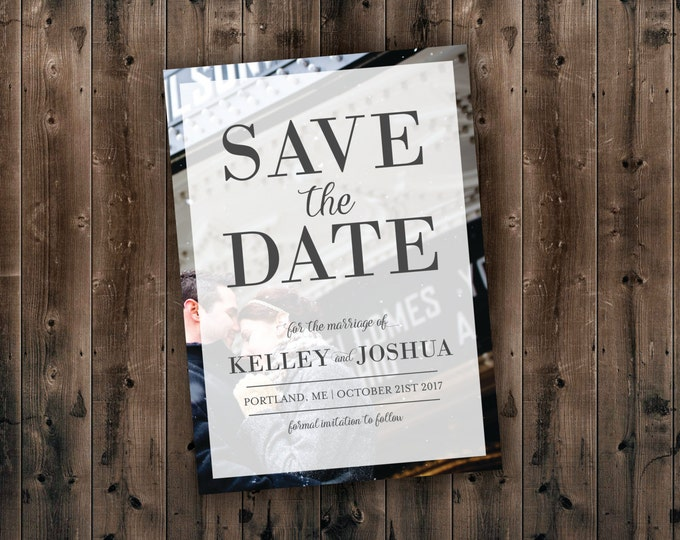 Photo Save the Date Cards Printed - Postcards, Cheap, Photo, Wedding Save the Dates, Custom, Affordable, Photograph, Wedding Invitations