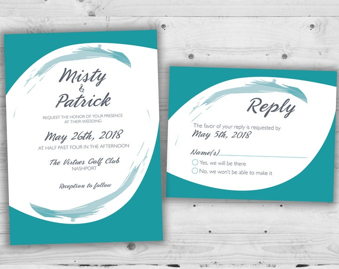 Wedding Invitation, Wedding Announcement, Wedding Invitations, Wedding Invite, Custom Wedding Invitation, Wedding Invitation Set Kit, Rustic
