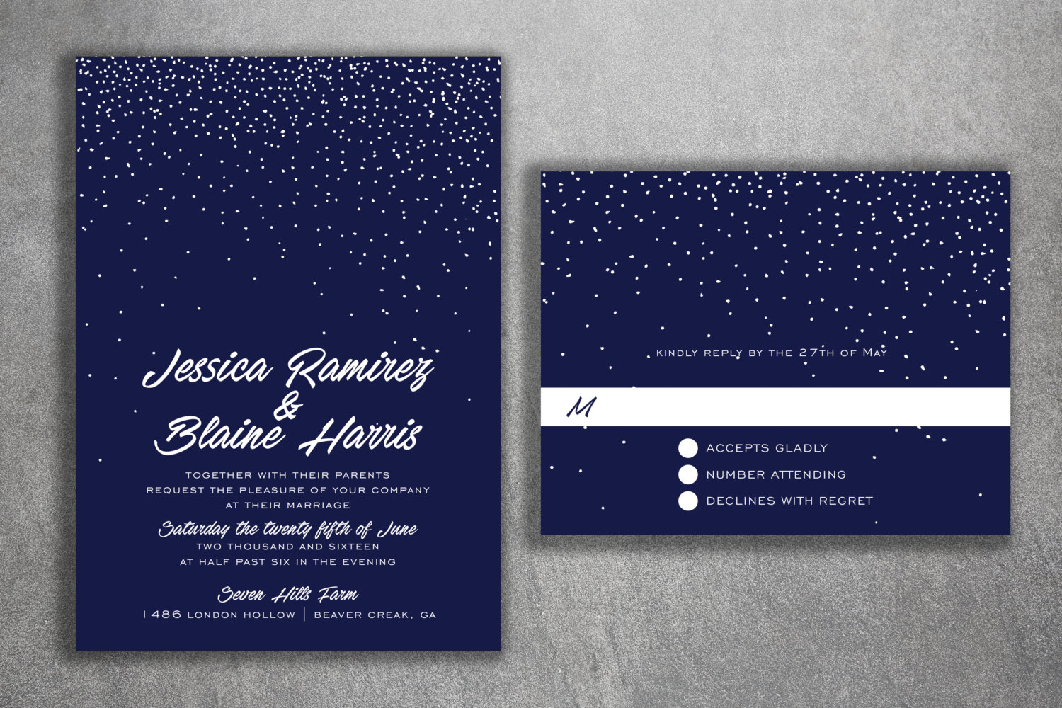 blue white wedding invitations set cheap wedding invitations