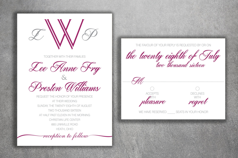Wedding Invitation, Affordable Wedding Invitations, Cheap Wedding ...