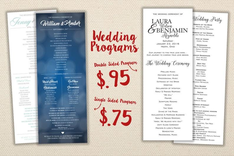Cheap Wedding Programs.Affordable Wedding Programs Ceremony Order Cheap Wedding Programs Unique Custom Simple Classic Ceremony Programs Wedding Party