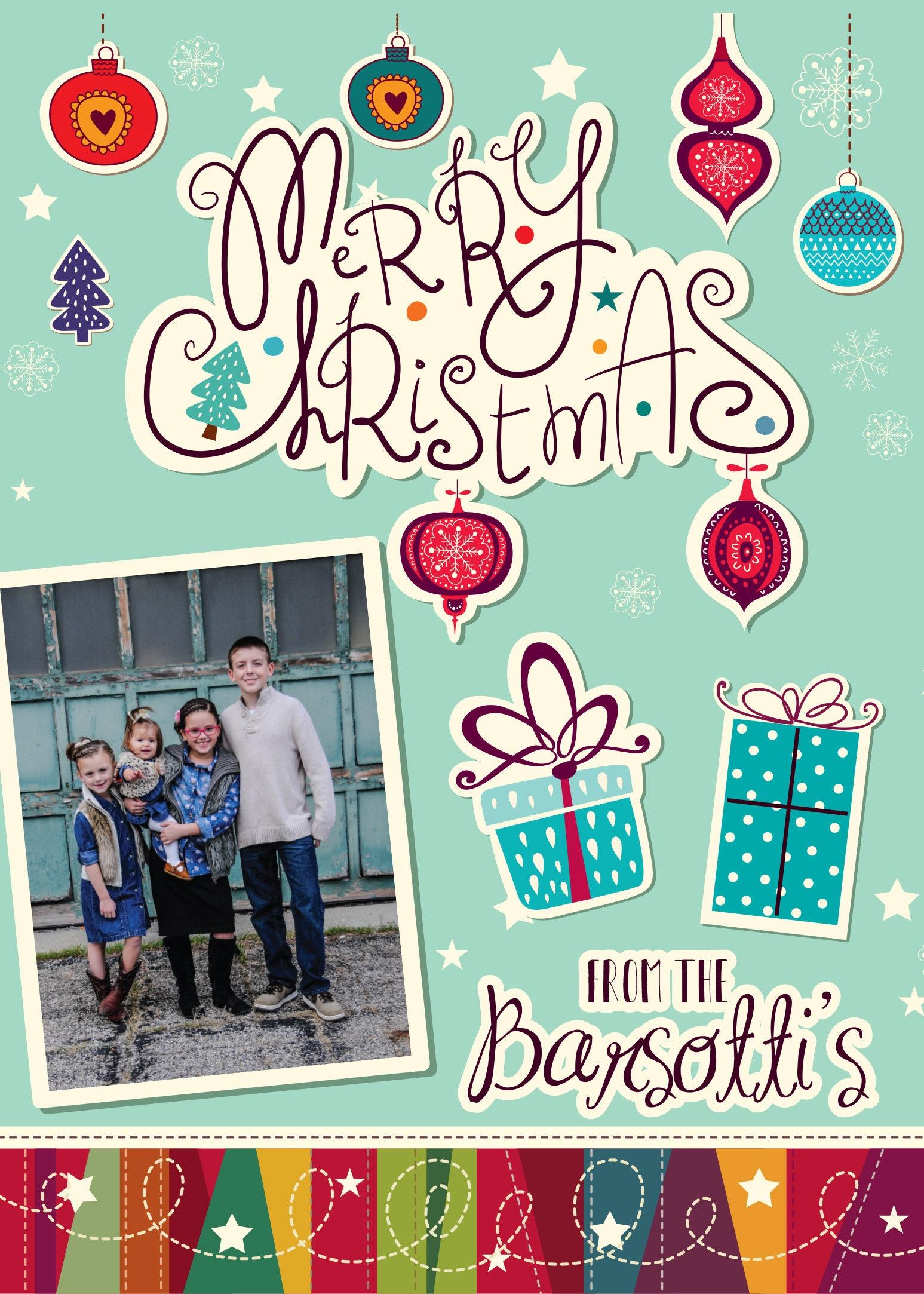 family christmas card photo christmas cards our first christmas personalized christmas cards holiday cards photo picture custom cards - Custom Photo Christmas Cards