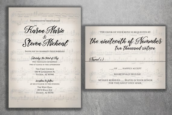 lovely music wedding invitation or 74 best music for wedding invitation video