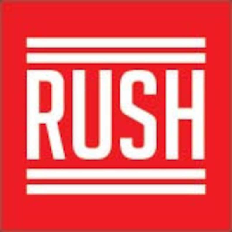 RUSH ORDER Add-On  24 Hours rush production with standard image 0