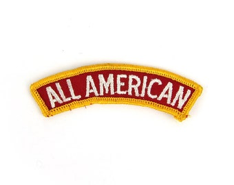 All American Vintage Patch