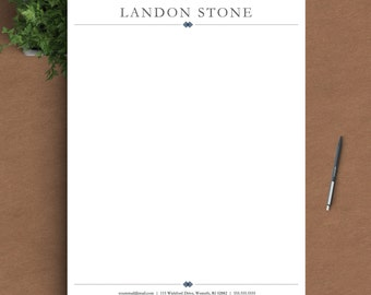 template for personal letterhead