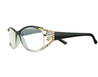 e7e686bbcd2b Swarovski Crystal Readers Reading Glasses