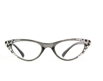 64caaf647561 Sparkly Reading Glasses made with Swarovski Crystals