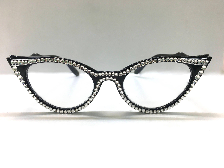 155ccc42098 ... Swarovski Crystal Reading Glasses. gallery photo ...