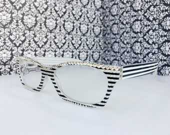 Reading Glasses Made with Authentic Swarovski Crystals +1.00