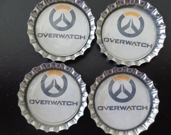 Overwatch Bottlecap Magnets!