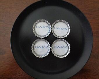 Halo Bottlecap Magnets!