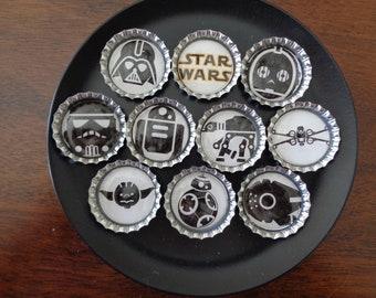 Star Wars Bottlecap Magnets!