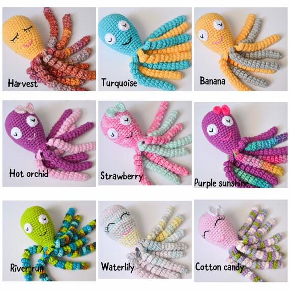 Frühchen Oktopus Häkeln Krake Tintenfisch Für Frühchen Etsy